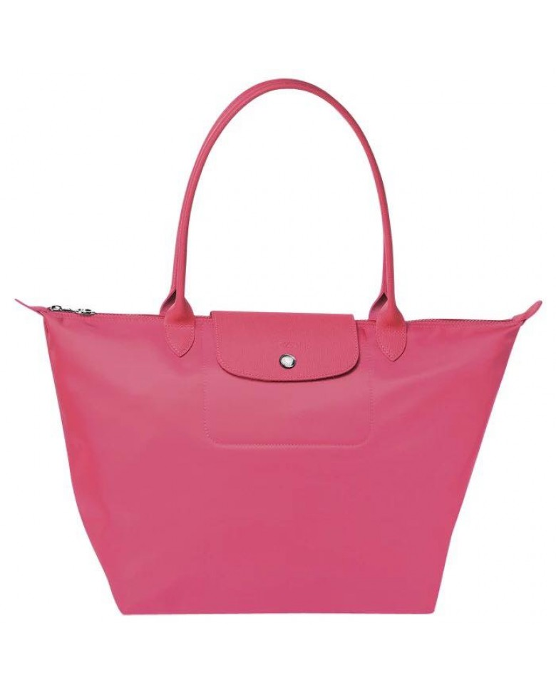 reputable site 00324 e422d Longchamp Le Pliage Neo Nylon Long Handle Shoulder (Medium   Large Size)