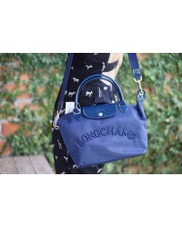 LONGCHMP Le Pliage Neo Embroidery Tote / Sling Handbag (small & medium)