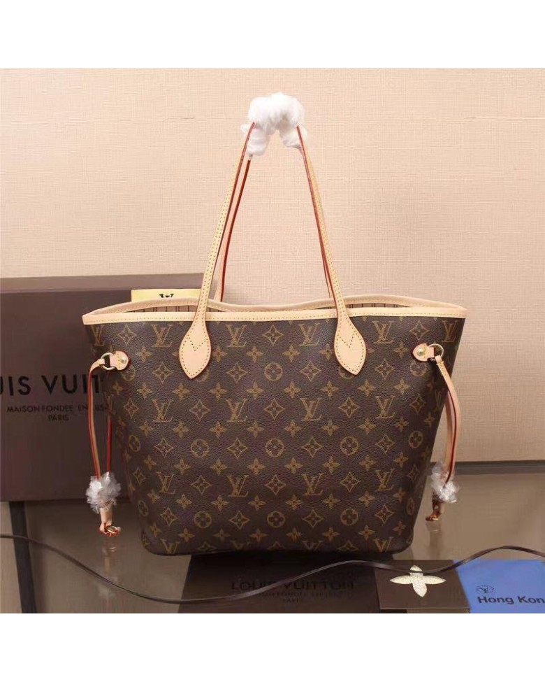 Premium Quality Louis Vuitton Bag Lv Neverfull 2 In 1 Shoulder Tote Handbag