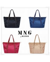 Mango Signature Nylon Shoulder / Sling Bag