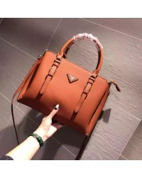 Prada Lux Galleria Leather Tote/Sling Handbag