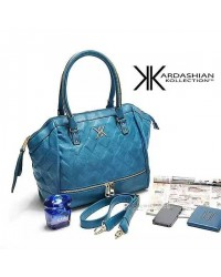 Kardashian Kollection Bottom Zipper Bag