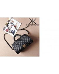 Kardashian Kollection PU Leather Quilted Bag