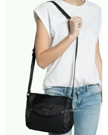 Mango Contemporary Nylon Sling Handbag