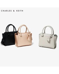CHARLES & KEITH CK Signature City Bag Tote/Sling Handbag