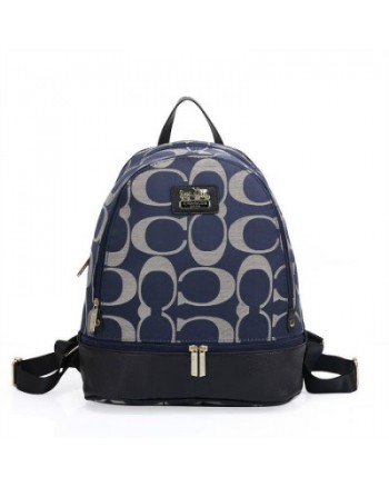 Coach Branded Backpack OEM Bag (Darkblue/Black/Grey/Darkbrown/Beige)