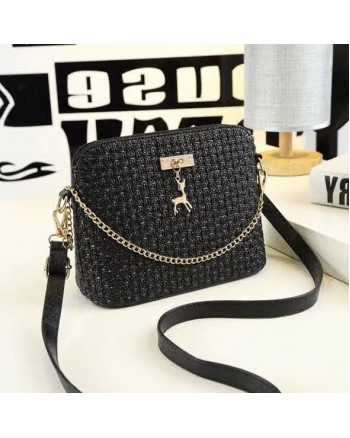 Korean Vogue Engrave Sling Handbag