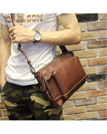 Korean Le Vouge Bag Men Capitan Leather Sling Handbag READY STOCK