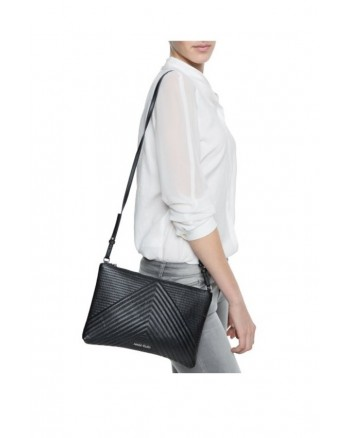 Mango V Shaped Messenger Sling Handbag
