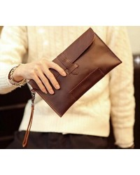 Korean Le Vogue Men Bursa Leather Clutch